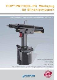 POP® PNT1000L-PC Werkzeug für Blindnietmuttern - Heyman