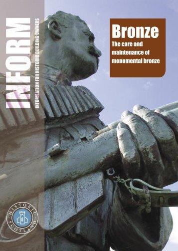 Inform Guide - Bronze - Historic Scotland