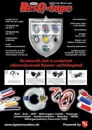ResQ-tape Informationsblatt - GuK Technische Gummi und ...