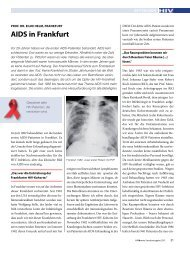 aIDS in Frankfurt - HIV & More