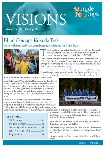 Download Visions September 2011 in PDF - Guide Dogs NSW/ACT