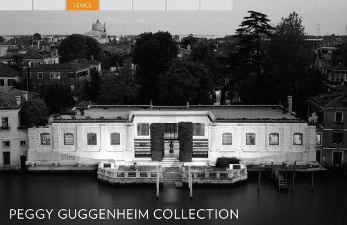 Peggy Guggenheim Collection, Venice - Guggenheim Museum