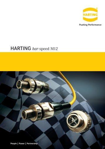 Datasheet Harting har-speed M12 - setron