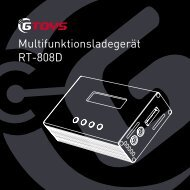 Multifunktionsladegerät RT-808D - GTOYS