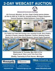 2-DAY WEBCAST AUCTION - The Branford Group