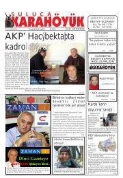 AKP' Hacıbektaşta kadrolaşıyor - Hacibektaslilar