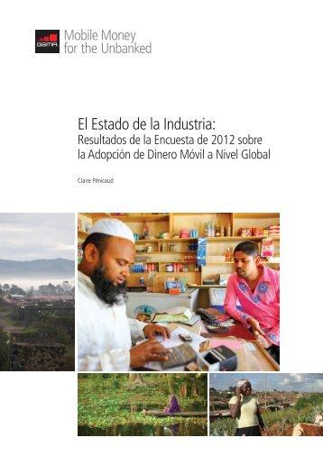 El Estado de la Industria: - GSMA