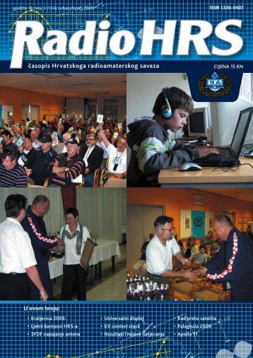 Radio HRS 3/09 - Hrvatski Radioamaterski Savez