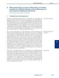 Nationaler Bildungsbericht Österreich 2012, Band 2, Kapitel 9 ... - Bifie