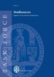 Studiesucces - Universiteit Leiden