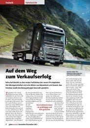 Volvo FH - Güterverkehr - online