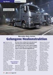Mercedes-Benz Actros - Güterverkehr - online