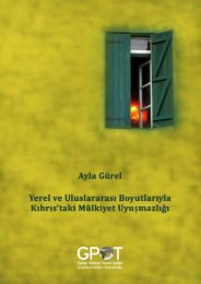 Ayla Gürel - GPoT, Global Political Trends Center