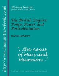 The British Empire - Humanities-Ebooks