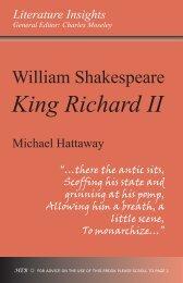 William Shakespeare: King Richard II - Humanities-Ebooks