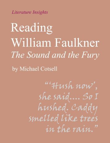 The Sound and the Fury - Humanities-Ebooks