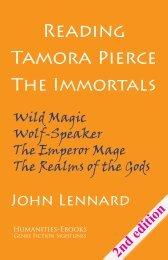 Tamora Pierce The Immortals - Humanities-Ebooks