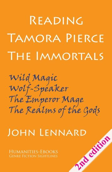 Tamora Pierce The Immortals - Humanities-Ebooks
