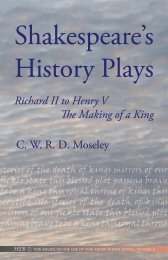 Shakespeare's - Humanities-Ebooks