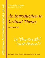 An Introduction to Critical Theory ISBN 978-1-84760-018-9