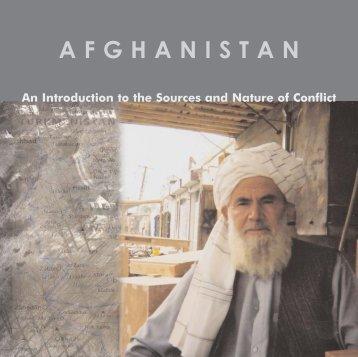 AFGHANISTAN - Creative Associates International