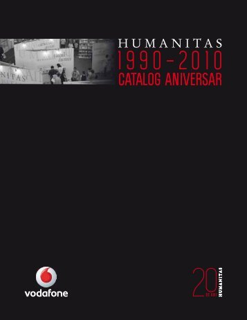 Catalog aniversar Humanitas 20 de ani