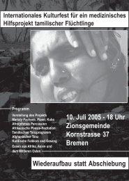 Flyer zur Veranstaltung - Human Rights Server