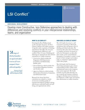 Lsi Paper Leadership and Organizational