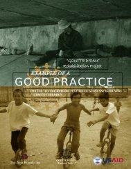 Goutte d'Eau Rehabilitation Project - HumanTrafficking.org