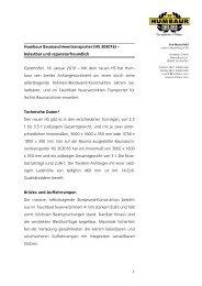 1 Humbaur Baumaschinentransporter (HS 303016) – belastbar und ...