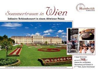 Sommertraum in Wien - Humboldt Studienreisen
