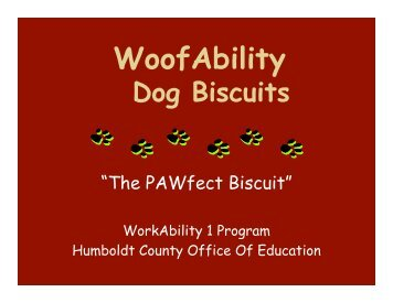 WoofAbility (llroecklein v2).ppt - Humboldt County Office of Education