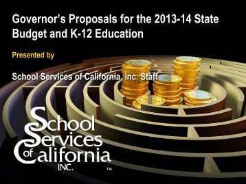 SSC Budget Presentation 2013 - Humboldt County Office of Education