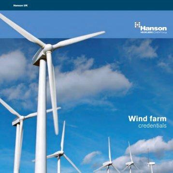 Wind farm - HeidelbergCement
