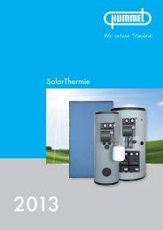 SolarThermie - HUMMEL AG