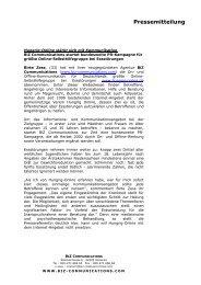 Pressemitteilung vom 12.07.2002 - Hungrig-Online