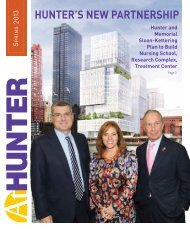 Spring 2013 Edition (PDF) - Hunter College - CUNY