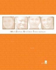 The Multi-Ethnic Resource Team Manual - Huntington University