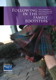 Following in the family footsteps - National Trust for Scotland