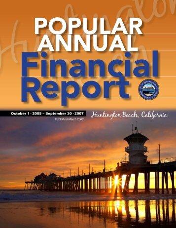 Huntington Beach, California - City of Huntington Beach