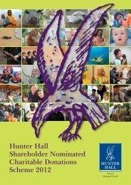 2012 - Hunter Hall Investment Management
