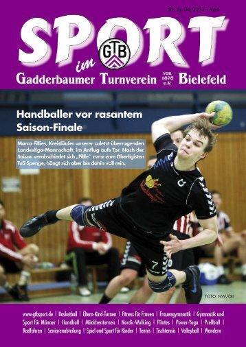 Ausgabe April 2013 - Gadderbaumer Turnverein v. 1878 eV Bielefeld