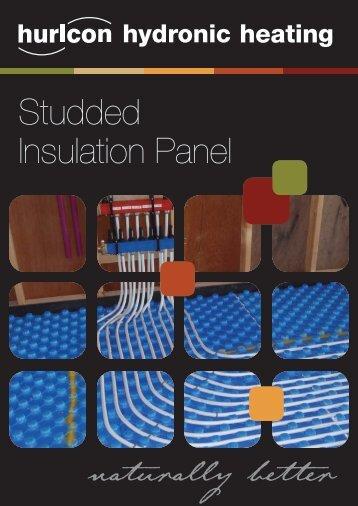 Studded Insulation Panel - Hurlcon Heating