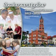 Seniorenratgeber Lessingstadt Kamenz 2012-2014