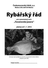 Rybářský řád na rok 2013 - HeidelbergCement