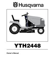 OM, YTH 2448, 96013000700, 2005-09, Ride Mower - Husqvarna