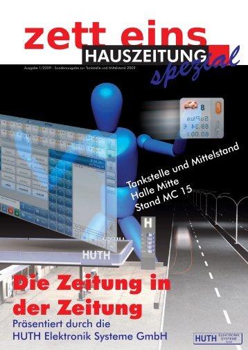 Ausgabe 01/2009 - HUTH ELEKTRONIK SYSTEME GmbH