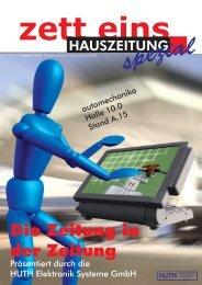 Ausgabe 01/2008 - HUTH ELEKTRONIK SYSTEME GmbH