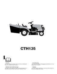 OM, CTH135, HECTH135B, 2002-03, SE, DK, NO, FI - Husqvarna