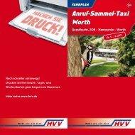 Anruf-Sammel-Taxi Worth Anruf-Sammel-Taxi Worth - HVV